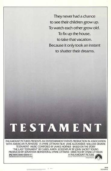 the_movie_poster_of_testament_from_the_year_1983