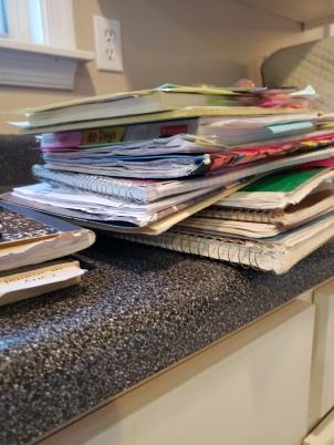 work pile